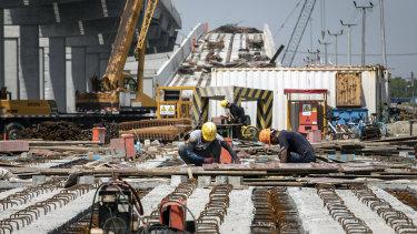 China has slapped tariffs on many Australian products but unsurprisingly  has left iron ore alone.