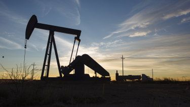 Oil has spiked by over 12 per cent since the start of the year.