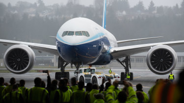 Boeing expects the money from the bond issue to cover its funding needs for the year, barring any unexpected event.