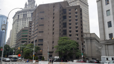 The Metropolitan Correctional Centre in Manhattan where Jeffrey Epstein was incarcerated and was found dead.