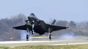 South Korea acquired the country's first stealth fighter jets from Lockheed Martin last year.