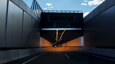 Traffic is likely to remain light on the new M4 East until early next week.