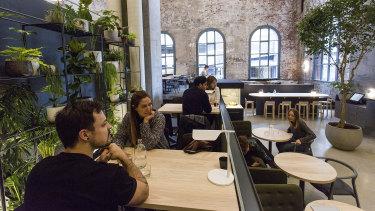 Higher Ground cafe on Little Bourke Street.
