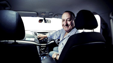 Sydney Uber driver Danny Cook says the attitudes of riders has changed.