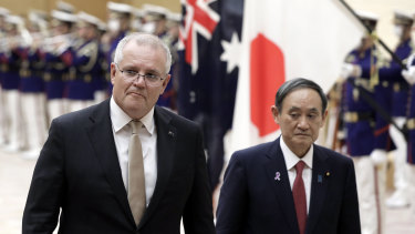 Australia and Japan have signed a new defence pact.