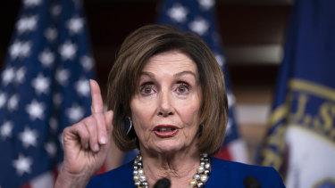 Unbowed: Speaker of the House Nancy Pelosi.