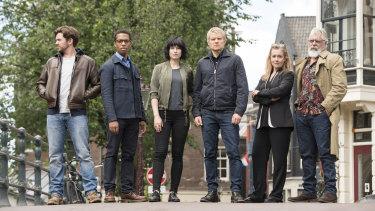 The cast of Van der Valk.