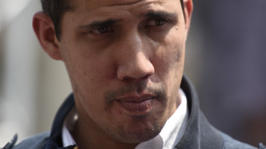 Target of the government: Opposition Leader Juan Guaido.