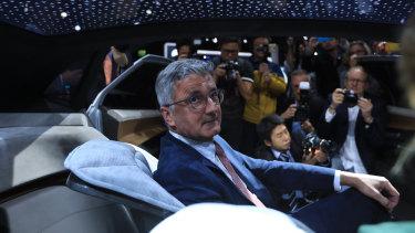Detained: Audi chief Rupert Stadler.