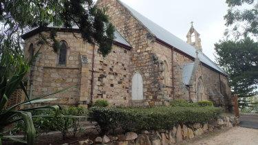 St Mary's church at Kangaroo Point in Brisbane.