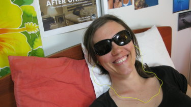 Ketra Wooding, who has chronic fatigue syndrome, lives in aged care at 33.