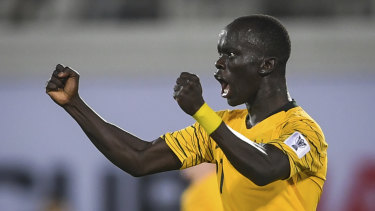 Awer Mabil is keen to take on more responsibility with the national team.