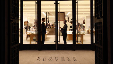 The power of Barney's is plotting a swoop for Debenhams and Arcadia.