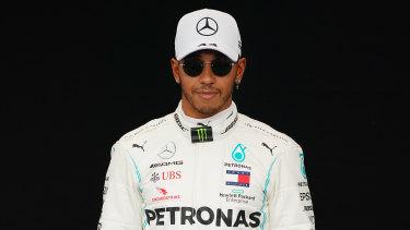 """""""Cash is king"""": Lewis Hamilton."""