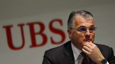 UBS is hunting for a successor for chief executive Sergio Ermotti.