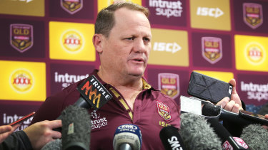 Mind games: Kevin Walters has managed to take the focus off his players.