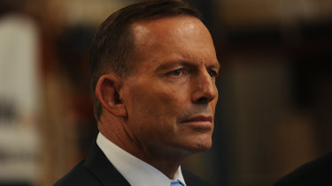 Former prime minister Tony Abbott is a divisive figure inside the Liberal Party.