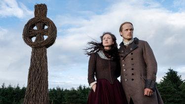 Scenic storytelling in the Scottish highlands in Outlander.