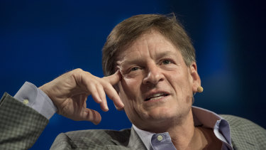 Author Michael Lewis says for tech companies to be desirable they need to be 'somewhat unknowable'.