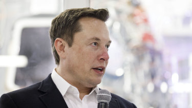 Not going to settle: Tesla's founder and CEO Elon Musk.
