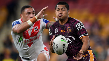 Broncos star Anthony Milford has struggled to live up to the hype in recent years.