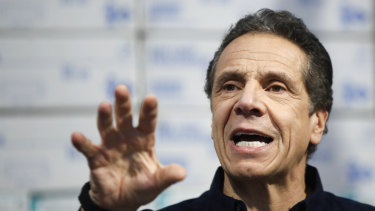 New York Governor Andrew Cuomo's daily coronavirus briefings are televised nationally on cable news.