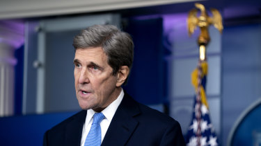 """US climate envoy John Kerry says the planet is """"screaming at us"""" to act on carbon emissions."""