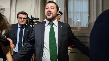 Matteo Salvini, leader of the anti-immigrant party League, will form a coalition government.