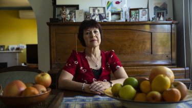 Valerie Lester, mother of Rachel Murphy, is a TAFE teacher.