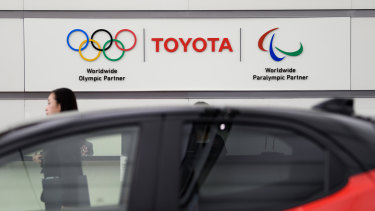 Toyota, a top sponsor, said this week that it would not run Olympics-themed television ads in Japan during the Games, reflecting concerns about a possible public backlash against companies underwriting the event.