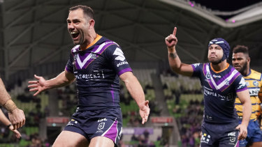 Cameron Smith gets the last laugh against the Eels.