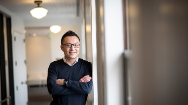 In the early days of the company, DoorDash co-founder and chief executive Tony Xu helped delivered the food himself.