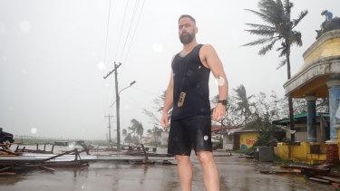 Storm-chaser Josh Morgerman