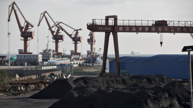 Coal exports to China have been restricted.