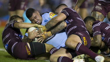 Andrew Fifita battled on to play his 200th game on Sunday.