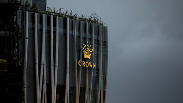 Blackstone owns 10 per cent of Crown and major casinos in Las Vegas, Europe and Latin America.