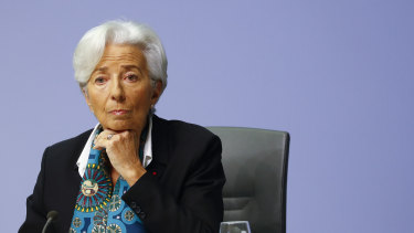 ECB chief Christine Lagarde faced some resistance before releasing the package.