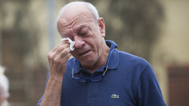 On Friday afternoon, Saeed Maasarwe laid flowers near where his daughter was killed.