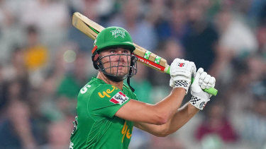 Stars' Marcus Stoinis was excellent with the bat against the Thunder'