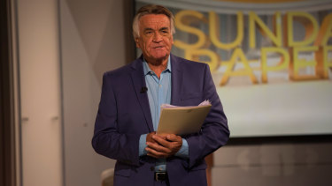 Barrie Cassidy has wrapped up his final episode of Insiders.