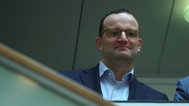 Jens Spahn, Germany's health minister is blossoming in a boring job.
