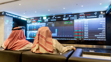 Stockmarkets across the Middle East plunged on Sunday.