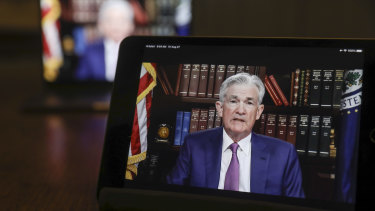 Jerome Powell's eagerly-awaited virtual speech raises many questions.