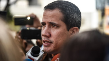Opposition leader Juan Guaido.