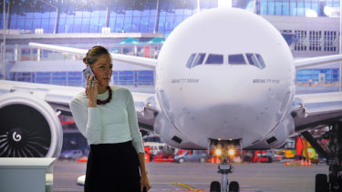 US Congress has barred the use of mobile phones for calls during flights.