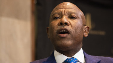 """The global expansion is continuing but at a slower pace,"" IMFC chairman Lesetja Kganyago, governor of the South African Reserve Bank, said."