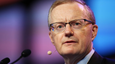 RBA governor Philip Lowe has said the next rate move is likely to be up, but also made it clear the economy's return to full employment and inflation getting nearer the 2.5 per cent midpoint of the RBA's target will only be gradual.