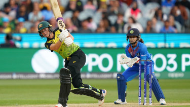 Alyssa Healy was the match-winner in the T20 World Cup final.