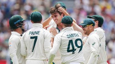 Pat Cummins has been a standout again this summer for Australia.