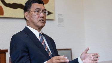 UWA vice-chancellor Amit Chakma.